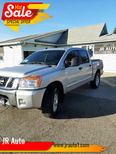 2010 Nissan Titan for sale at JR Auto in Brookings SD