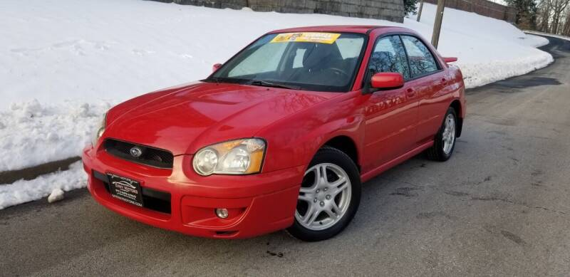 2004 Subaru Impreza for sale at ENVY MOTORS in Paterson NJ