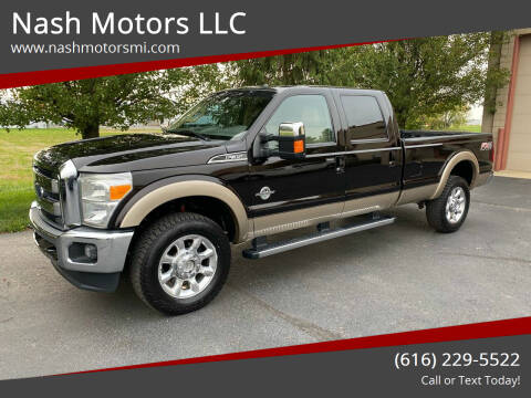 2013 Ford F-350 Super Duty for sale at Nash Motors LLC in Hudsonville MI