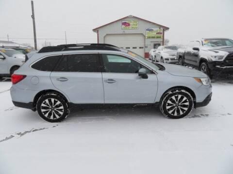 2016 Subaru Outback for sale at Jefferson St Motors in Waterloo IA