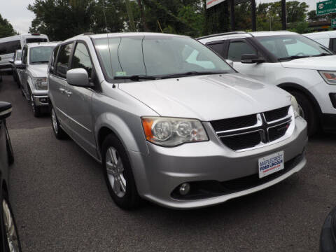 2012 Dodge Grand Caravan for sale at MAPLECREST FORD LINCOLN USED CARS in Vauxhall NJ