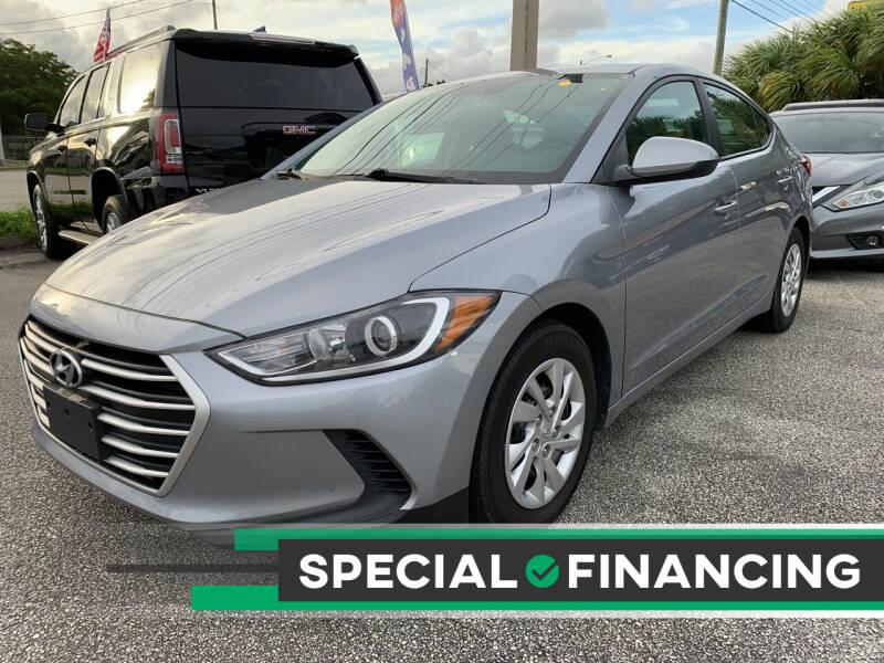 2017 Hyundai Elantra for sale at Bargain Auto Sales in West Palm Beach FL