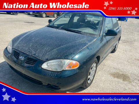 2000 Hyundai Elantra for sale at Nation Auto Wholesale in Cleveland OH