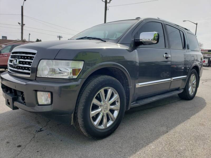 2008 Infiniti QX56 for sale at Empire Auto Group in Indianapolis IN