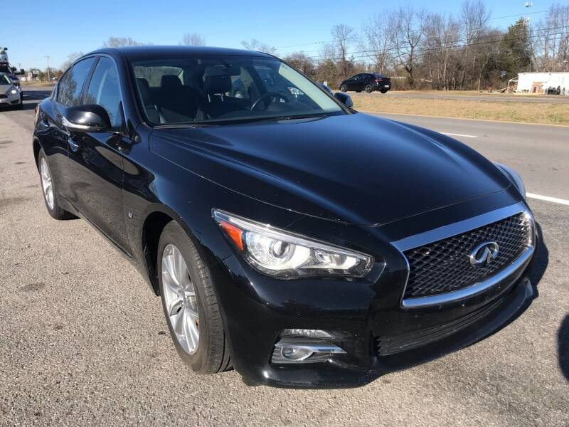 2015 Infiniti Q50 for sale at Tennessee Auto Brokers LLC in Murfreesboro TN