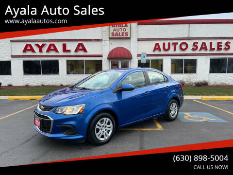 2018 Chevrolet Sonic for sale at Ayala Auto Sales in Aurora IL