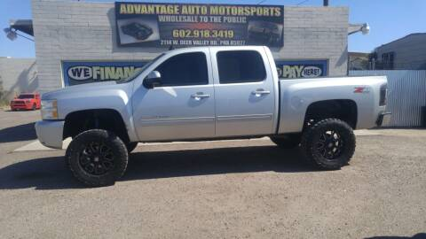 2011 Chevrolet Silverado 1500 for sale at Advantage Motorsports Plus in Phoenix AZ