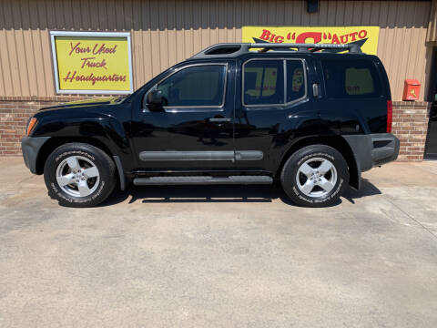 2008 Nissan Xterra for sale at BIG 'S' AUTO & TRACTOR SALES in Blanchard OK