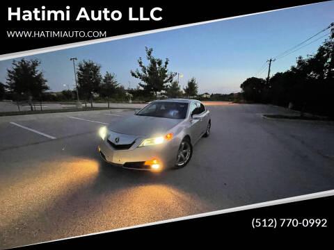 2009 Acura TL for sale at Hatimi Auto LLC in Austin TX