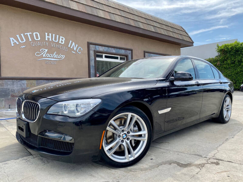 2014 BMW 7 Series for sale at Auto Hub, Inc. in Anaheim CA