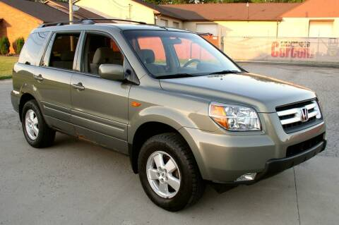 2007 Honda Pilot for sale at Angelo's Auto Sales in Lowellville OH