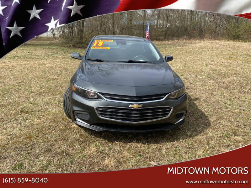 2018 Chevrolet Malibu for sale at Midtown Motors in Greenbrier TN