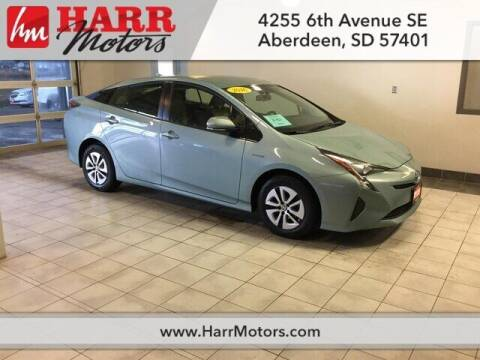 2016 Toyota Prius for sale at Harr Motors Bargain Center in Aberdeen SD