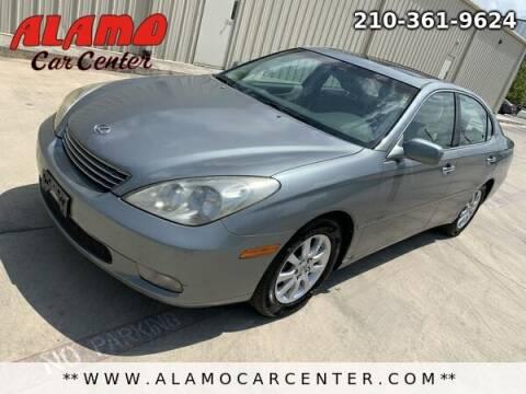 2002 Lexus ES 300 for sale at Alamo Car Center in San Antonio TX