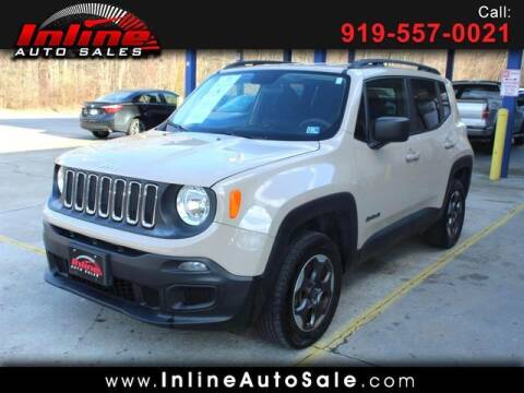 2016 Jeep Renegade for sale at Inline Auto Sales in Fuquay Varina NC