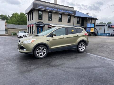 2013 Ford Escape for sale at Sisson Pre-Owned in Uniontown PA