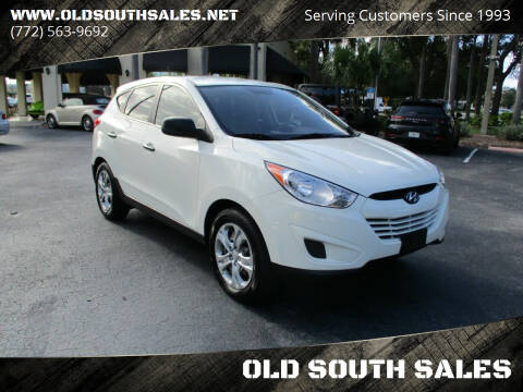 2011 Hyundai Tucson for sale at OLD SOUTH SALES in Vero Beach FL