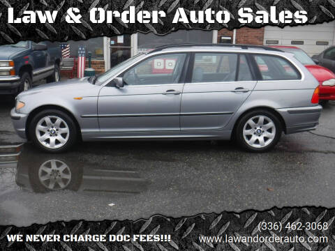 2004 BMW 3 Series for sale at Law & Order Auto Sales in Pilot Mountain NC