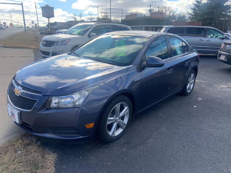 2013 Chevrolet Cruze for sale at GENE AND TONYS DEMOTTE AUTO SALES in Demotte IN
