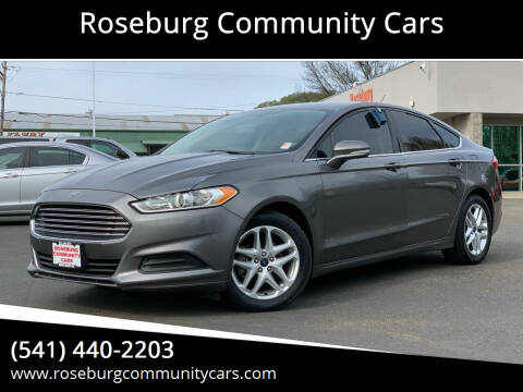 2014 Ford Fusion for sale at Roseburg Community Cars in Roseburg OR
