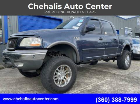 2002 Ford F-150 for sale at Chehalis Auto Center in Chehalis WA