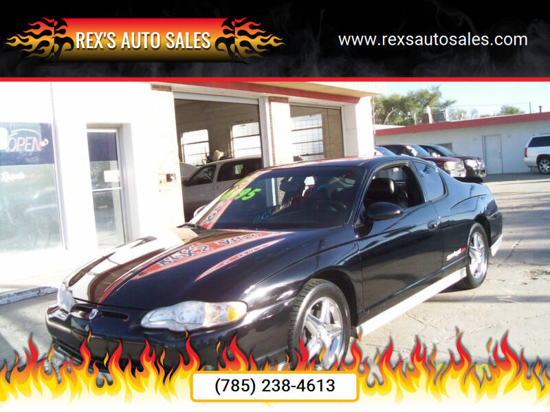 2005 Chevrolet Monte Carlo for sale at Rex's Auto Sales in Junction City KS