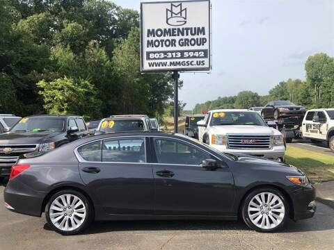 2015 Acura RLX for sale at Momentum Motor Group in Lancaster SC