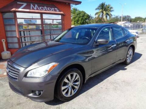 2012 Infiniti M37 for sale at Z MOTORS INC in Hollywood FL
