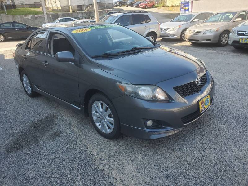 2009 Toyota Corolla for sale at Fortier's Auto Sales & Svc in Fall River MA
