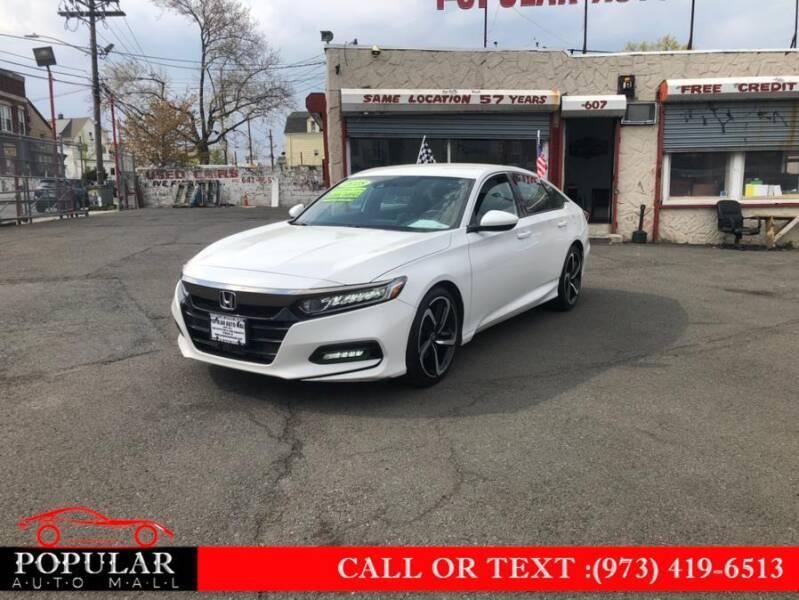 2018 Honda Accord for sale at Popular Auto Mall Inc in Newark NJ