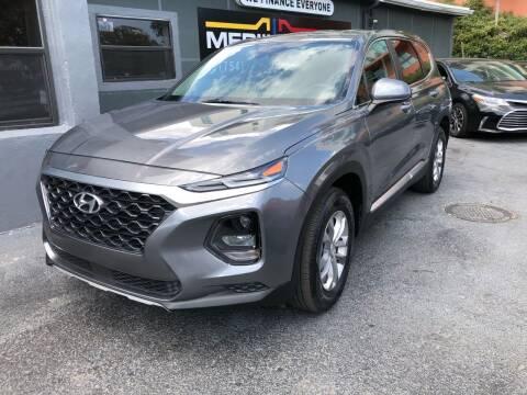 2019 Hyundai Santa Fe for sale at Meru Motors in Hollywood FL