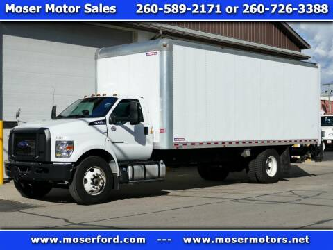 2017 Ford F-650 Super Duty for sale at Moser Motors Of Portland in Portland IN