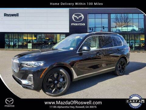 2019 BMW X7 for sale at Mazda Of Roswell in Roswell GA