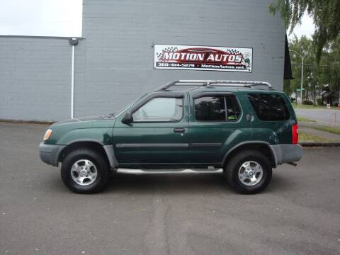 2000 Nissan Xterra for sale at Motion Autos in Longview WA