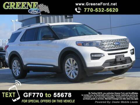 2021 Ford Explorer Hybrid for sale at NMI in Atlanta GA