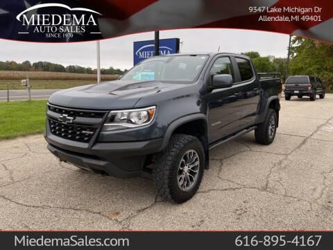 2019 Chevrolet Colorado for sale at Miedema Auto Sales in Allendale MI