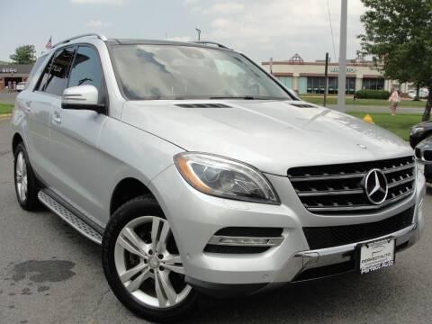 2013 Mercedes-Benz M-Class for sale at Perfect Auto in Manassas VA