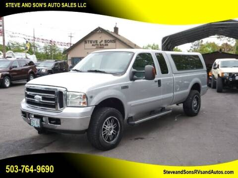 2006 Ford F-250 Super Duty for sale at Steve & Sons Auto Sales in Happy Valley OR