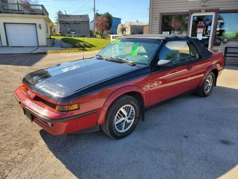 1989 Pontiac Sunbird for sale at JDL Automotive and Detailing in Plymouth WI
