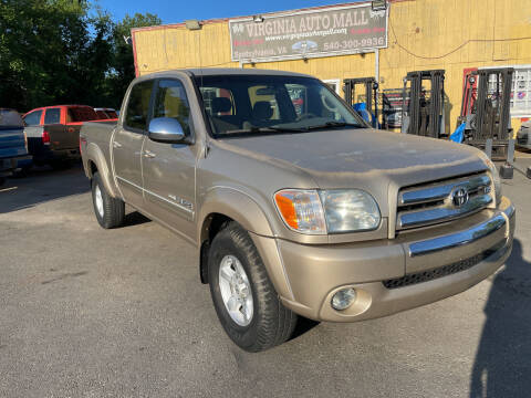 2006 Toyota Tundra for sale at Virginia Auto Mall in Woodford VA