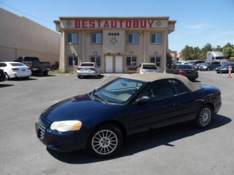 2006 Chrysler Sebring for sale at Best Auto Buy in Las Vegas NV