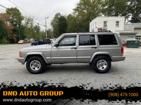 2001 Jeep Cherokee for sale at DND AUTO GROUP in Belvidere NJ