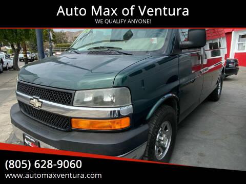 2008 Chevrolet Express Passenger for sale at Auto Max of Ventura in Ventura CA