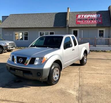 2005 Nissan Frontier for sale at Stephen Motor Sales LLC in Caldwell OH