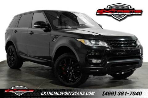 2015 Land Rover Range Rover Sport for sale at EXTREME SPORTCARS INC in Carrollton TX