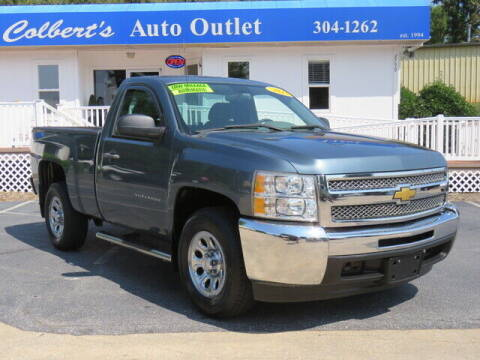 2013 Chevrolet Silverado 1500 for sale at Colbert's Auto Outlet in Hickory NC