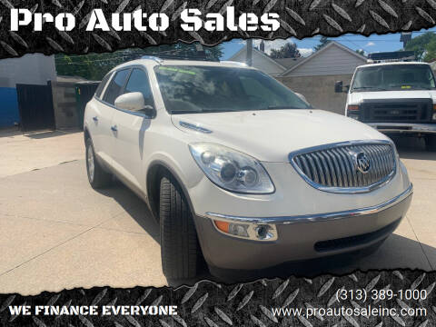 2010 Buick Enclave for sale at Pro Auto Sales in Lincoln Park MI