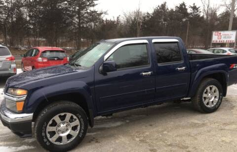 2012 Chevrolet Colorado for sale at B & B GARAGE LLC in Catskill NY