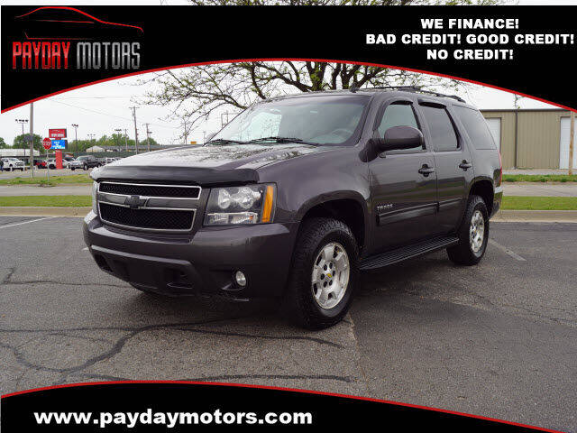 2010 Chevrolet Tahoe for sale at Payday Motors in Wichita KS