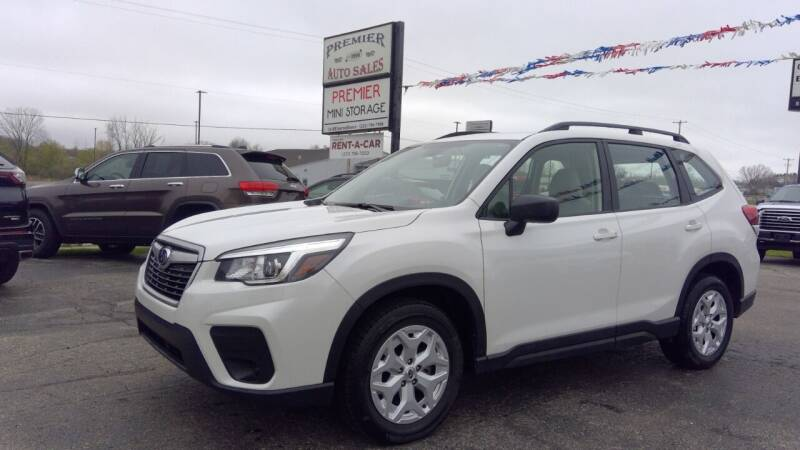 2019 Subaru Forester for sale at Premier Auto Sales Inc. in Big Rapids MI